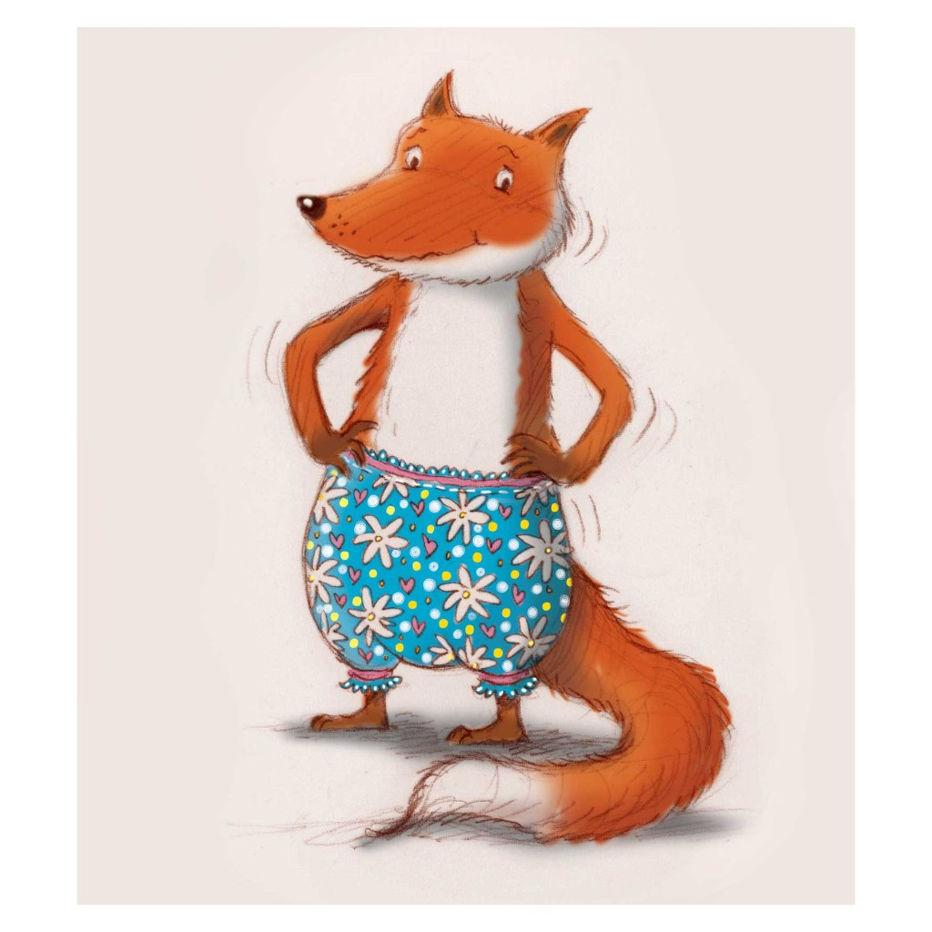 fox-in-pants